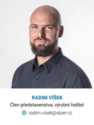 Alper, kontakt, Radim Víšek